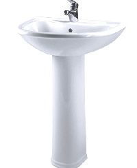 установка умывальника в ванной